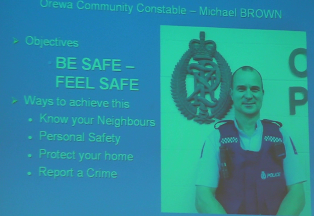 Constable Michael Brown